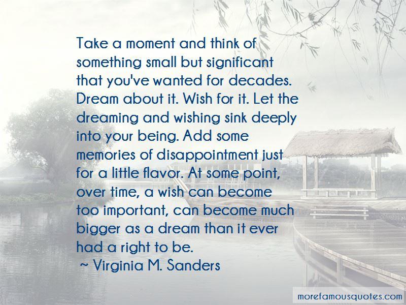 Virginia M. Sanders Quotes
