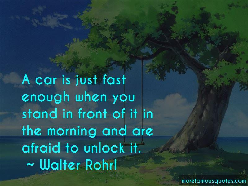Walter Rohrl Quotes