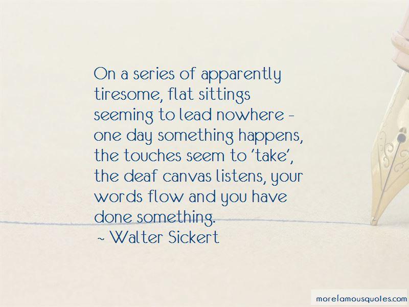Walter Sickert Quotes