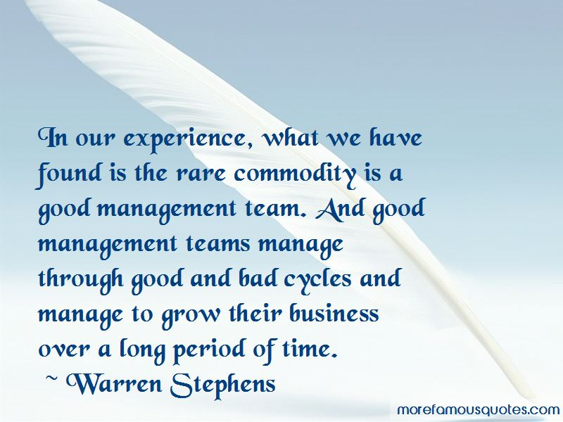 Warren Stephens Quotes Pictures 2