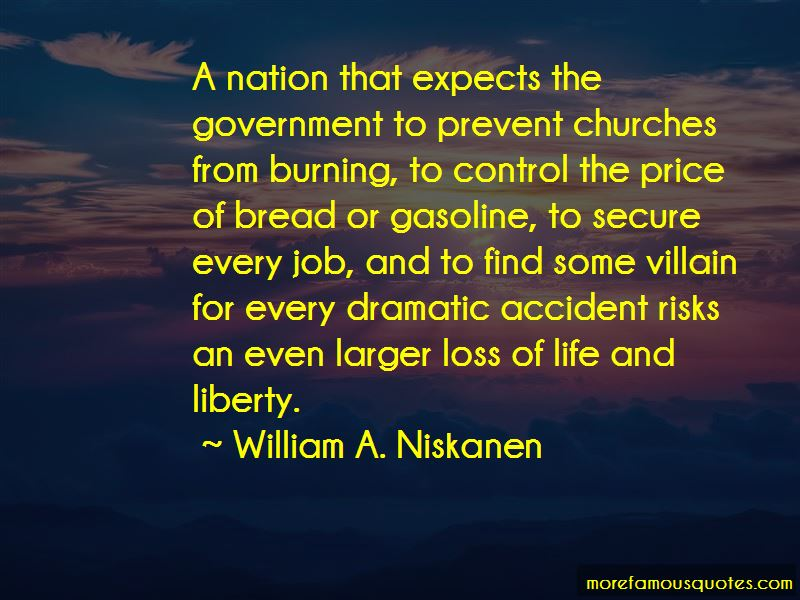 William A. Niskanen Quotes