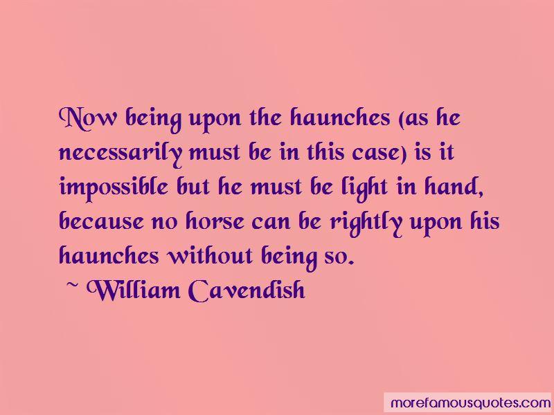 William Cavendish Quotes