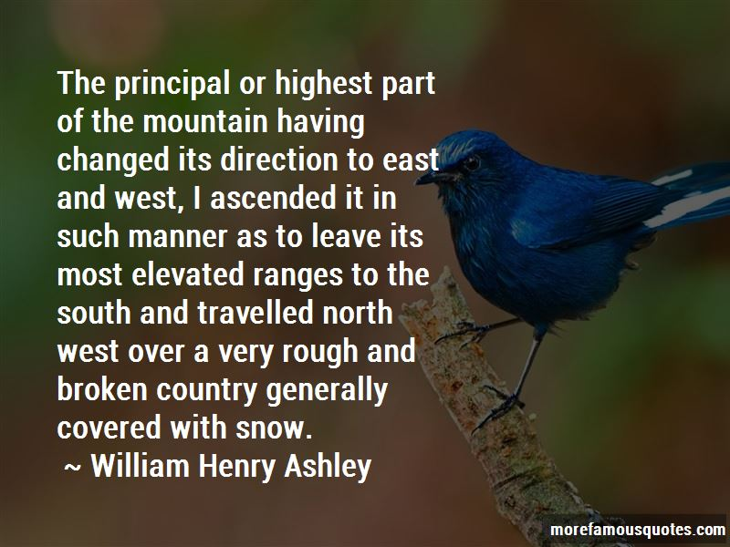 William Henry Ashley Quotes Pictures 4