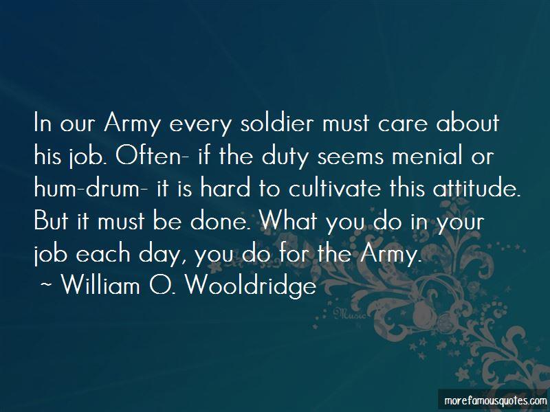 William O. Wooldridge Quotes
