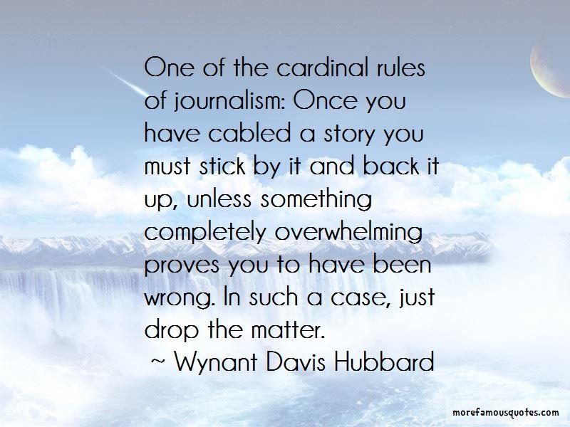 Wynant Davis Hubbard Quotes