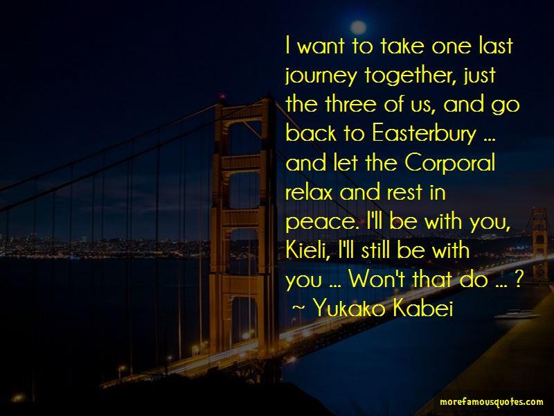 Yukako Kabei Quotes Pictures 3