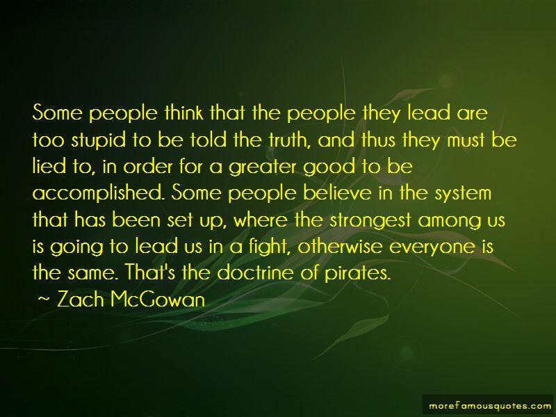 Zach McGowan Quotes Pictures 2