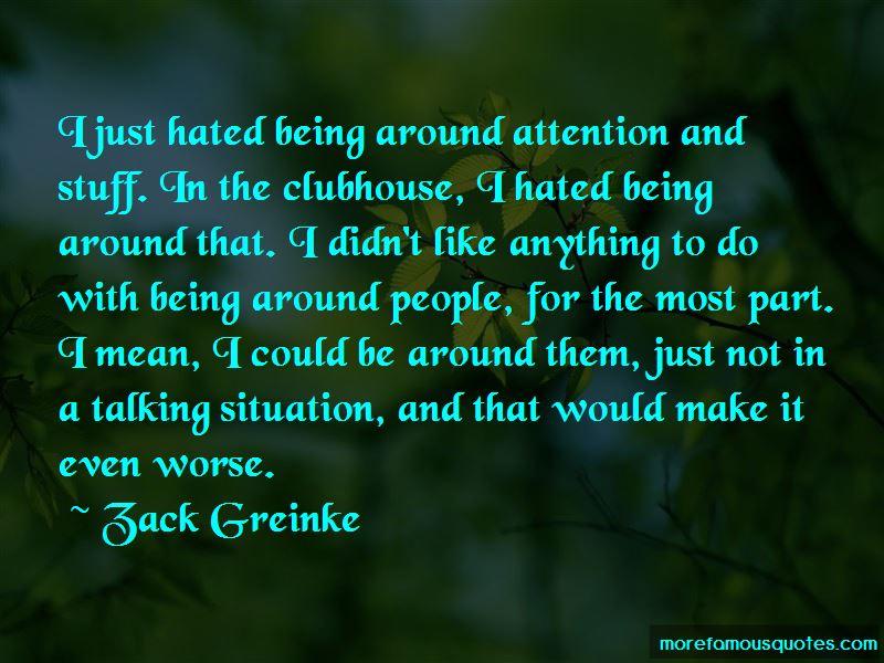 Zack Greinke Quotes
