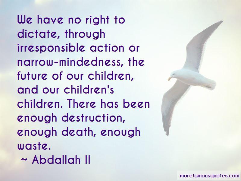 Abdallah II Quotes