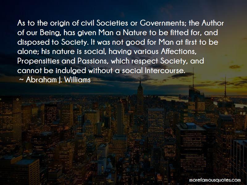 Abraham J. Williams Quotes Pictures 2