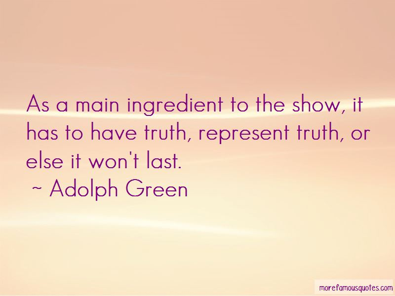 Adolph Green Quotes Pictures 2