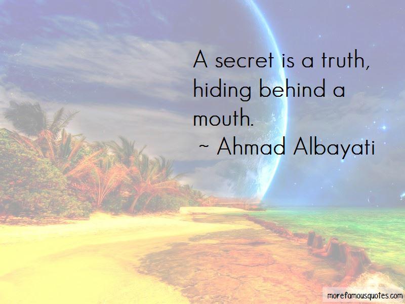 Ahmad Albayati Quotes