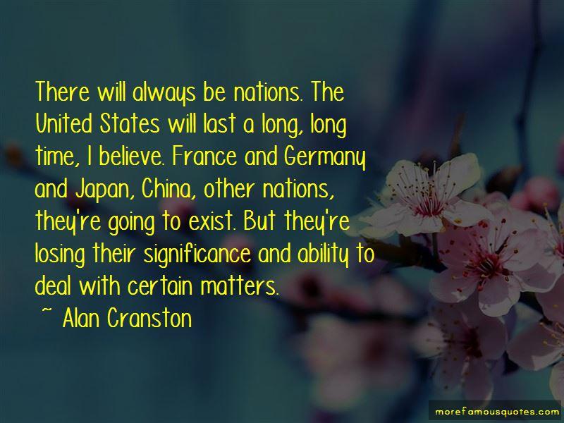 Alan Cranston Quotes Pictures 2