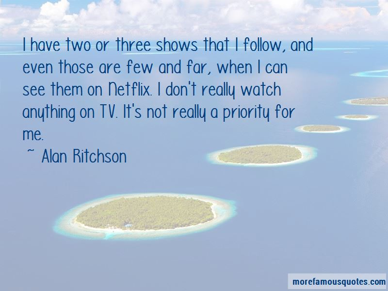 Alan Ritchson Quotes