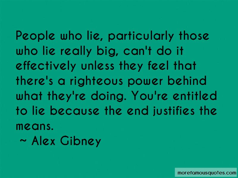 Alex Gibney Quotes Pictures 4