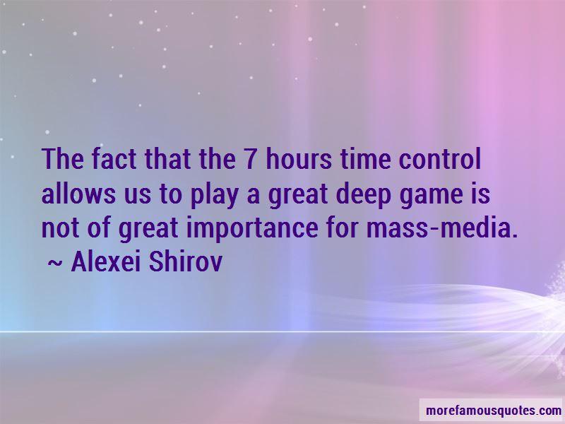 Alexei Shirov Quotes