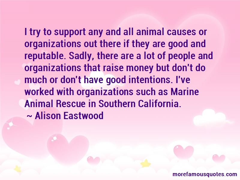 Alison Eastwood Quotes Pictures 4