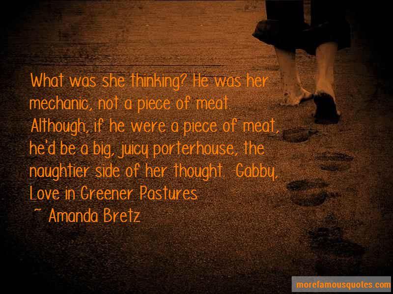 Amanda Bretz Quotes