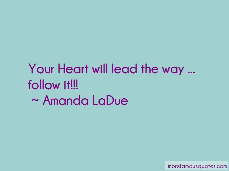Amanda LaDue Quotes