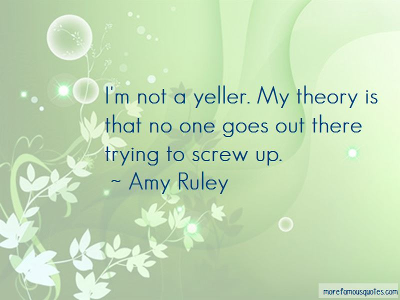 Amy Ruley Quotes