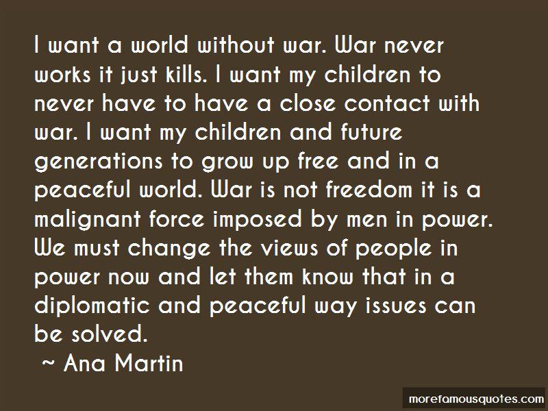 Ana Martin Quotes