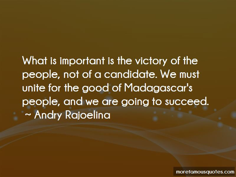 Andry Rajoelina Quotes