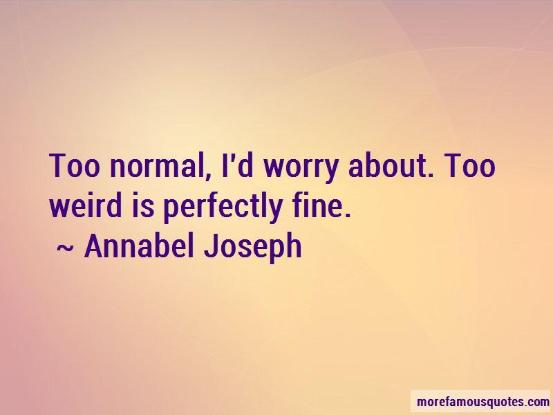 Annabel Joseph Quotes Pictures 2