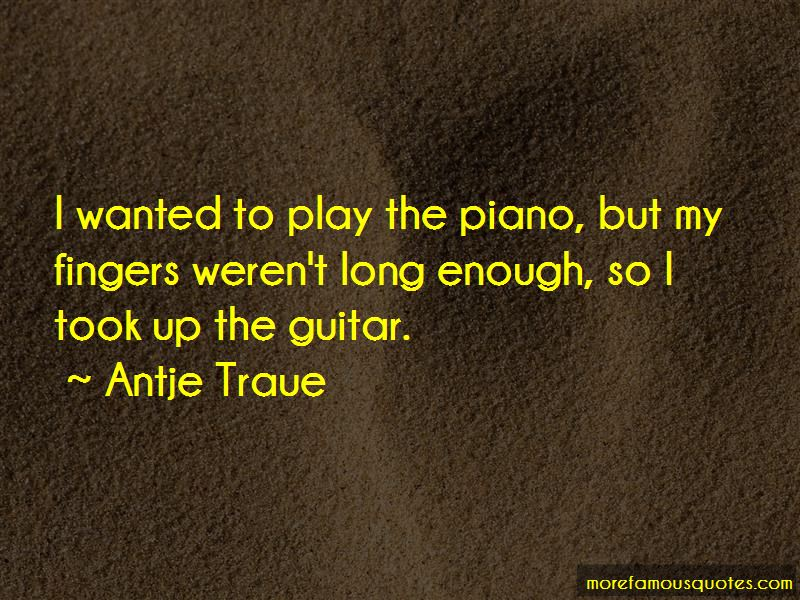 Antje Traue Quotes Pictures 2
