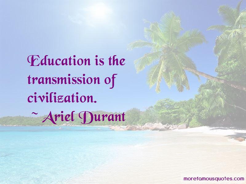 Ariel Durant Quotes Pictures 3