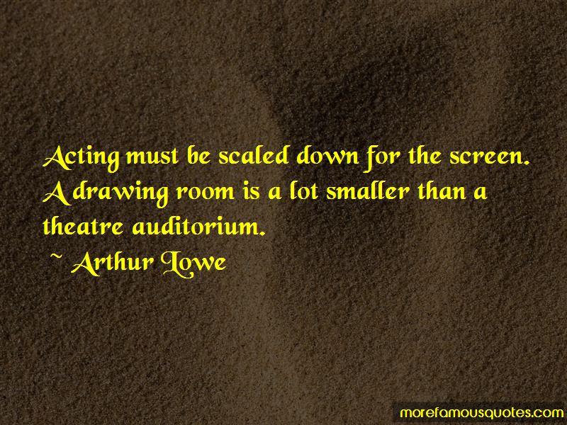 Arthur Lowe Quotes