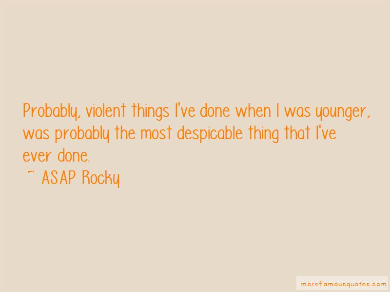 ASAP Rocky Quotes Pictures 2