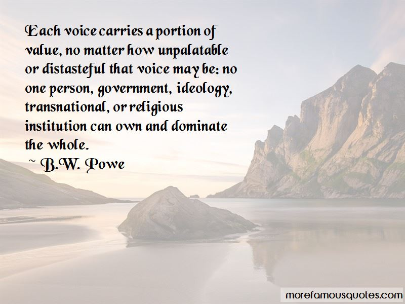 B.W. Powe Quotes Pictures 2