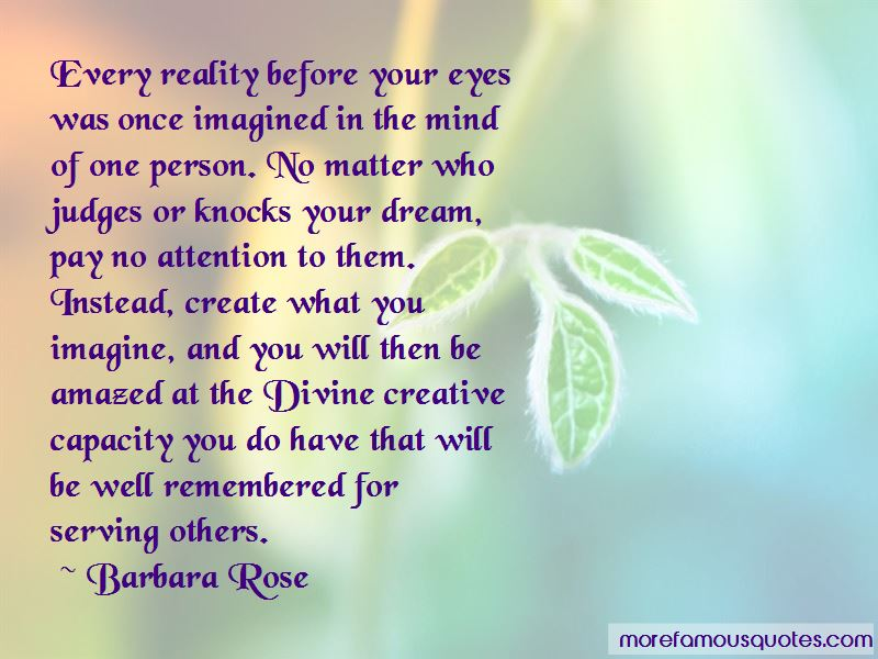 Barbara Rose Quotes Pictures 2