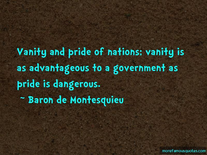 Baron De Montesquieu Quotes