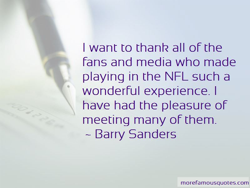 Barry Sanders Quotes Pictures 3
