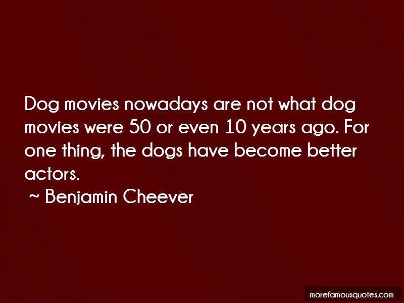 Benjamin Cheever Quotes Pictures 3