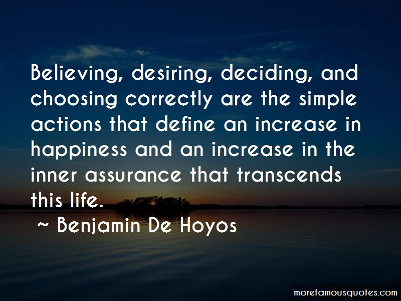 Benjamin De Hoyos Quotes Pictures 2