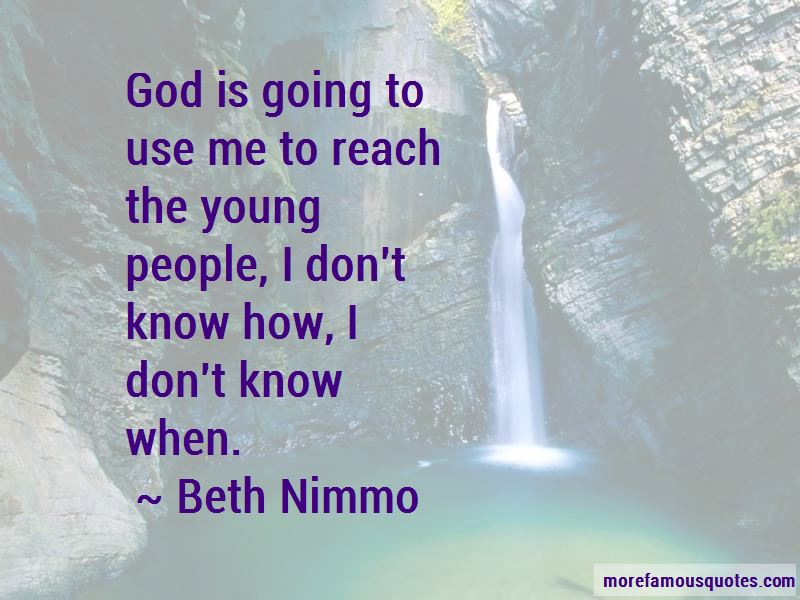 Beth Nimmo Quotes Pictures 3