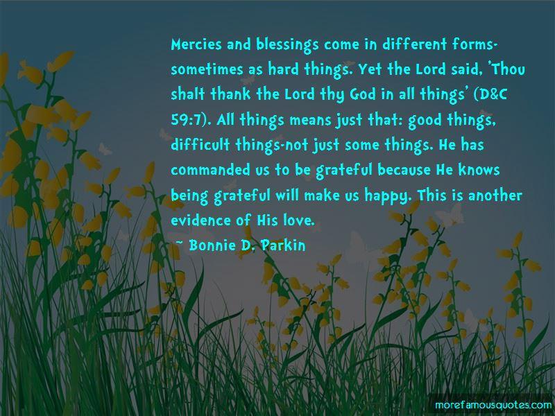 Bonnie D. Parkin Quotes