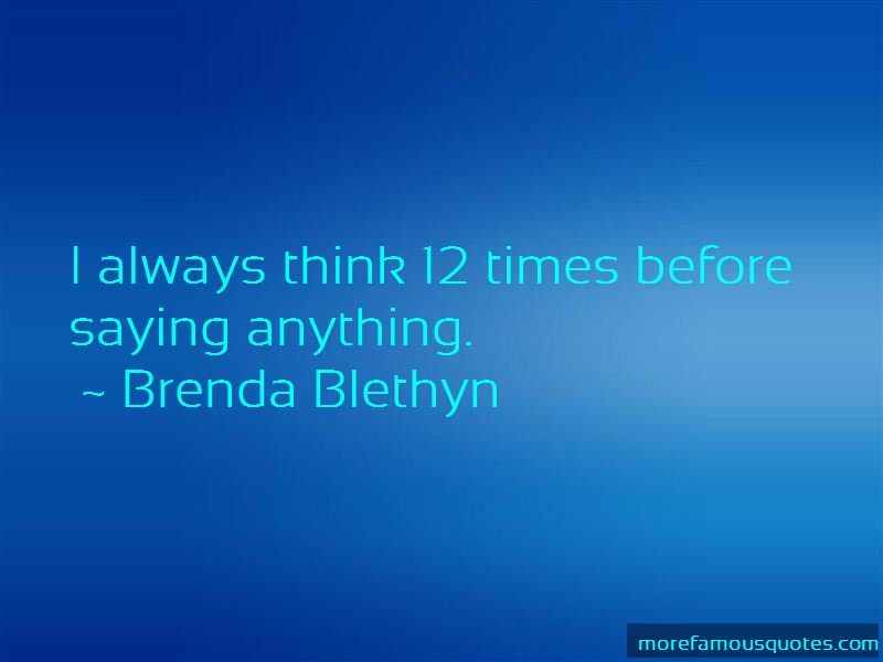 Brenda Blethyn Quotes Pictures 3