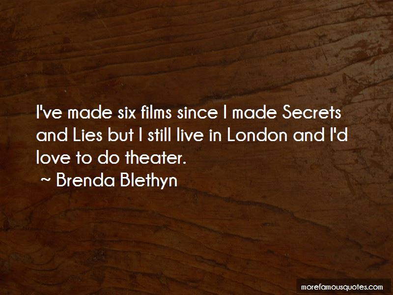 Brenda Blethyn Quotes Pictures 4