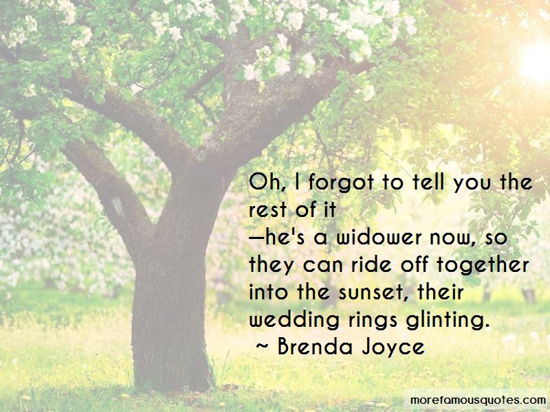 Brenda Joyce Quotes Pictures 2