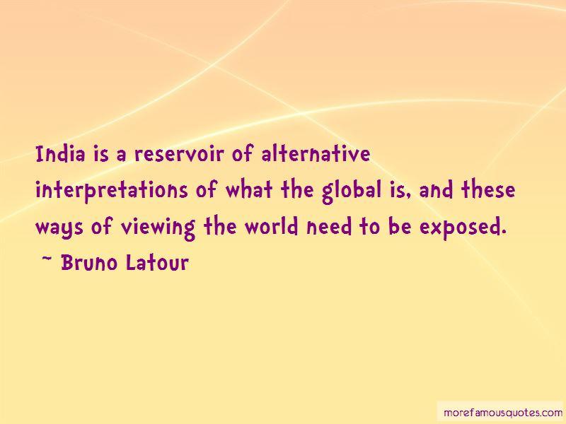 Bruno Latour Quotes