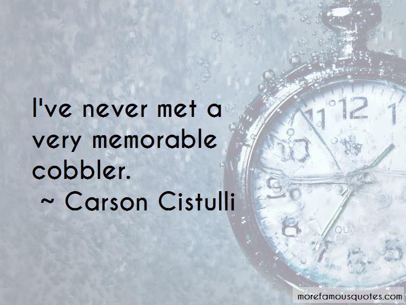Carson Cistulli Quotes Pictures 3