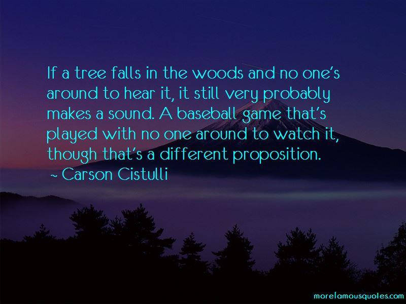 Carson Cistulli Quotes Pictures 4