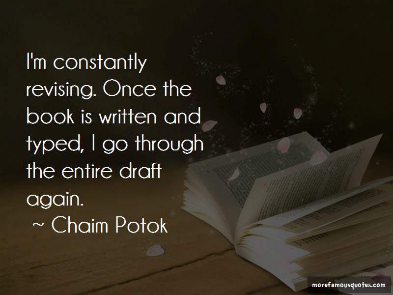 Chaim Potok Quotes Pictures 2