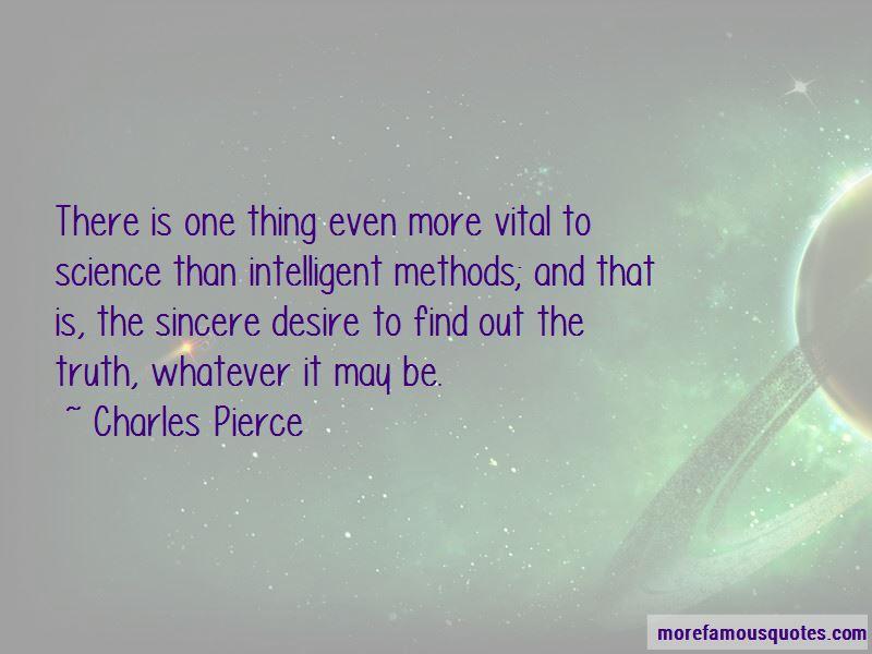 Charles Pierce Quotes
