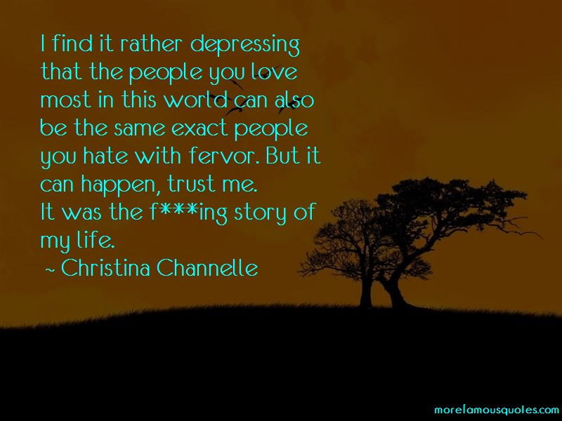Christina Channelle Quotes Pictures 2