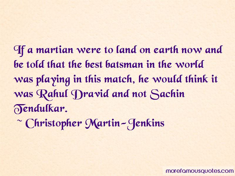 Christopher Martin-Jenkins Quotes