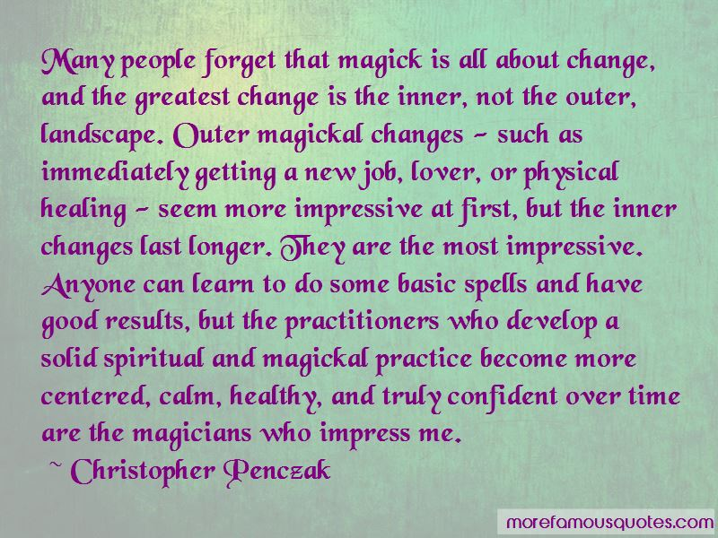 Christopher Penczak Quotes Pictures 4